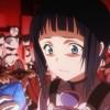 Sachi est enfermée dans une salle piégée. Le cristal de téléportation ne fonctionne pas.