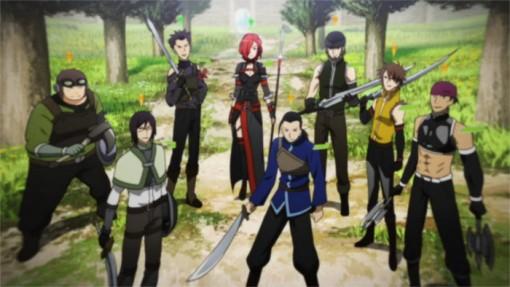 La guilde de Rosalia sur le point d'attaquer Kirito