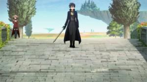 Kirito se prépare à l'assaut de Rosalia qui veut le dévaliser