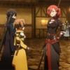 Kirito et Silica retrouvent le groupe de Rosalia en ville qui se montre très méchante