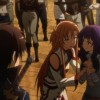 Yolko interrogée par Asuna après la mort de Cainz