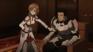 Asuna et Schmitt dans l'auberge où Yolko a trouvé la mort