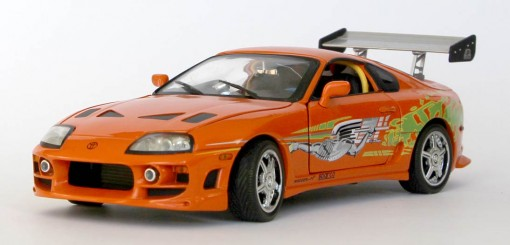 fast furious 1 toyota supra ech 1 18 joyride. Black Bedroom Furniture Sets. Home Design Ideas
