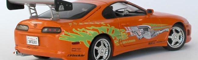 Fast and Furious - Toyota Supra - ech 1/18 (Joyride)