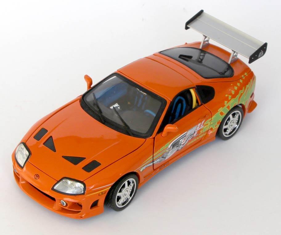 Toyota Supra Fast Furious die cast