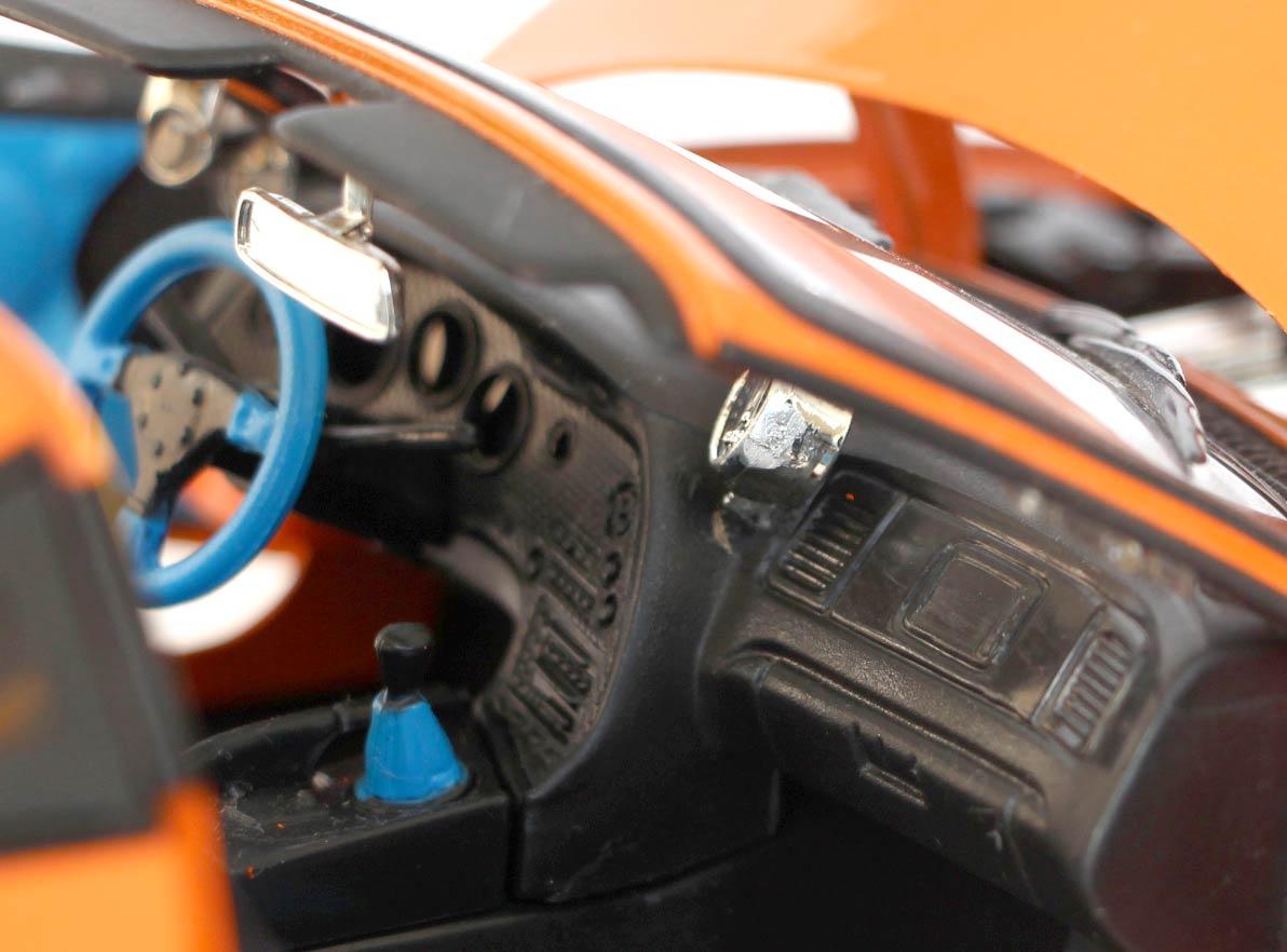 tableau de bord Toyota Supra Fast and Furious - ech 1/18 (Joyride)