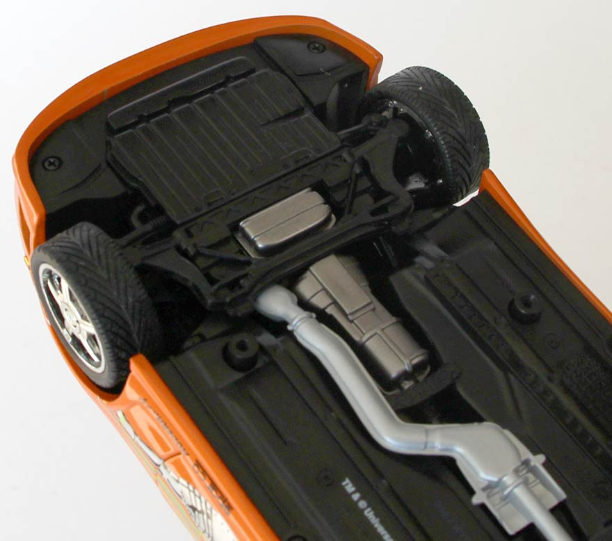 Châssis de la Toyota Supra - ech 1/18 (Joyride)