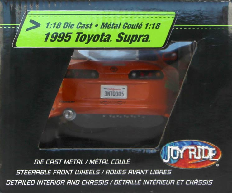 droite Packaging Toyota Supra Fast and Furious