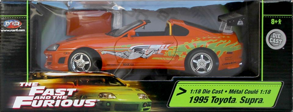 Packaging Toyota Supra Fast and Furious