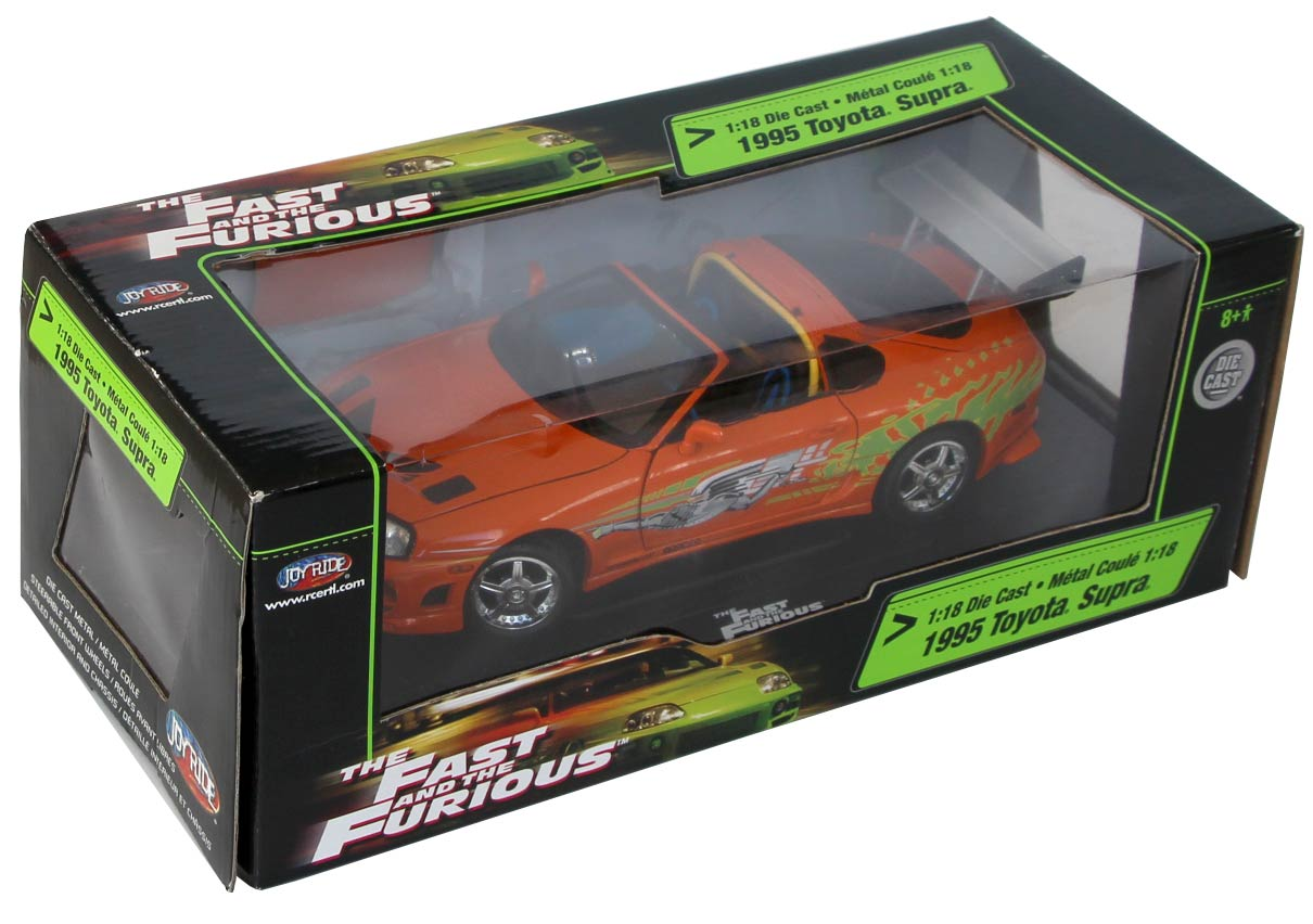 Packaging Toyota Supra Fast and Furious - ech 1/18 (Joyride)