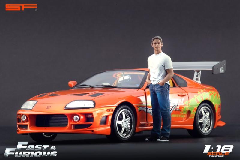 Brian Toyota Supra 1/18 Autoart