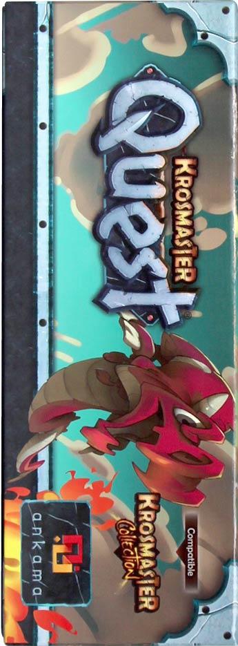 Krosmaster Quest packaging gauche