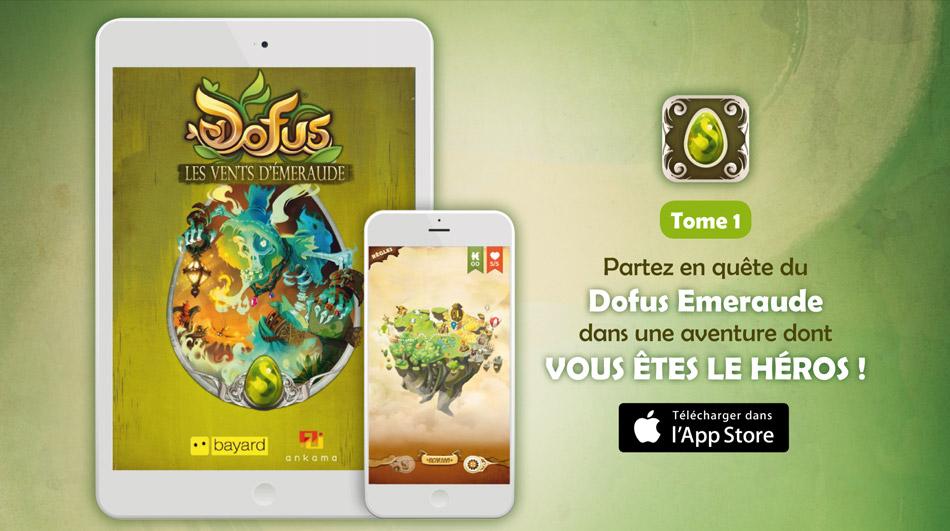 Le livre jeu dofus adapt en appli interactive for Dofus le jeu