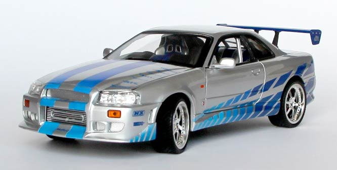 Nissan Skyline GT-R - Fast and Furious - Joyride 1-18