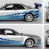 Nissan Skyline - Fast and Furious - diecast