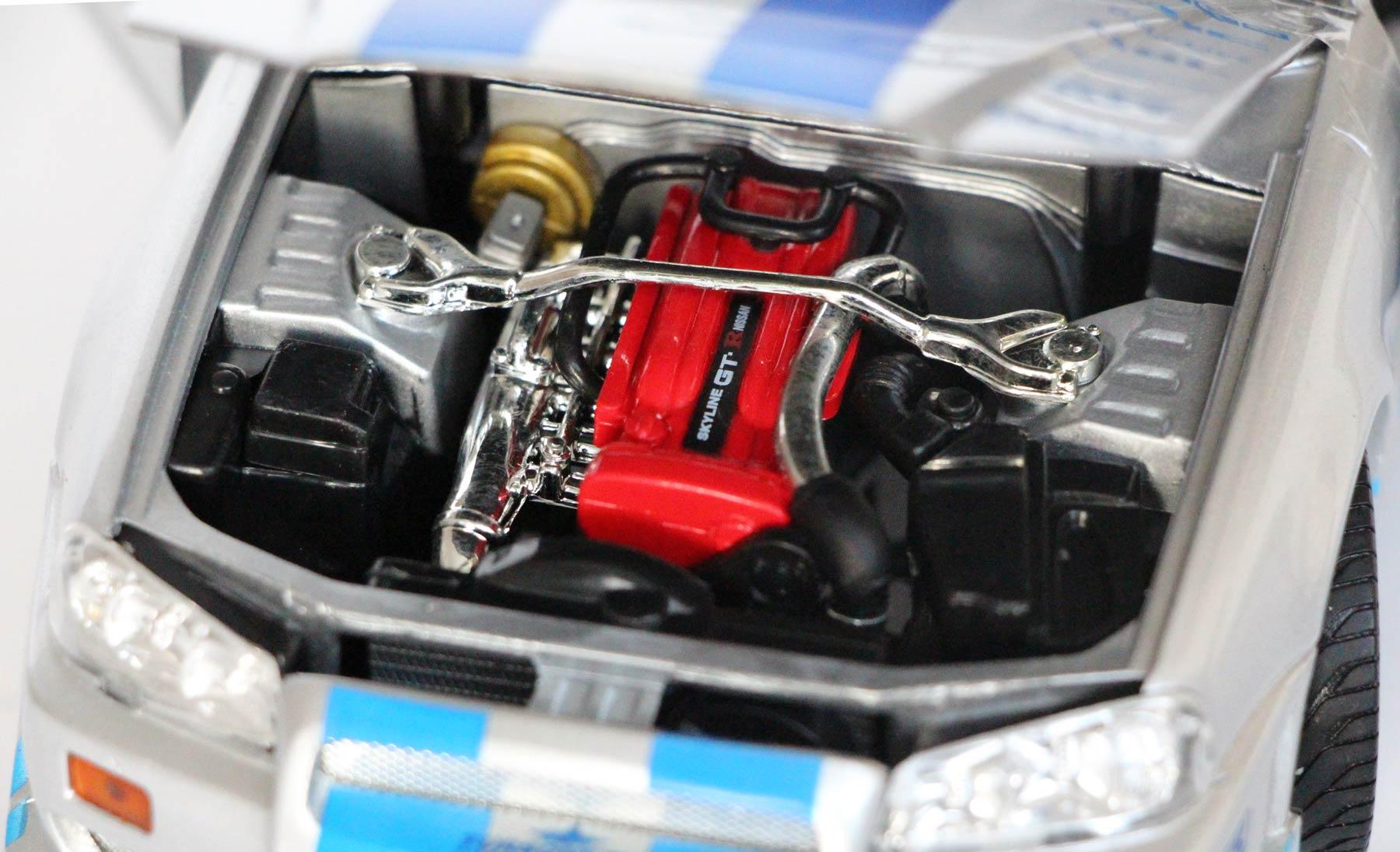 Fast Amp Furious 2 Nissan Skyline Gt R R34 Ech 1 18