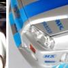 certains autocollants manquent sur la Nissan skyline de Fast Furious