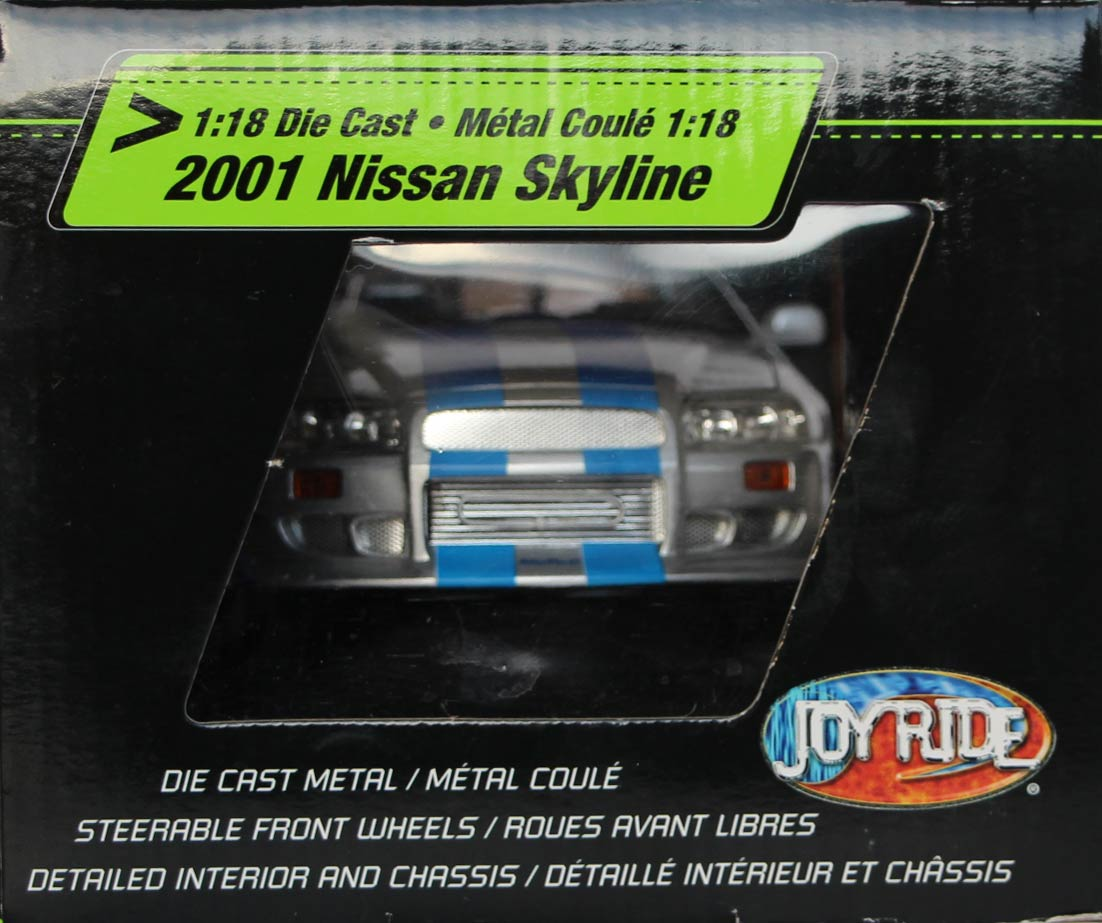 Nissan skyline joyride Fast Furious packaging droite