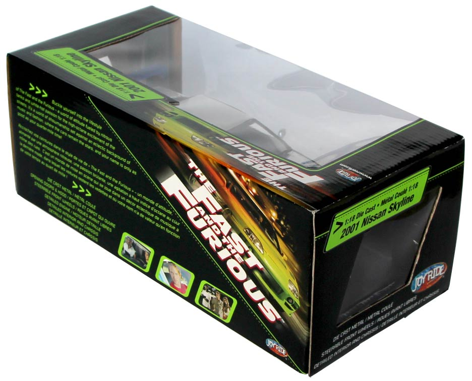Nissan Skyline Joyride Packaging dos