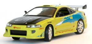 Mitsubishi Eclipse Fast and Furious - ech 1-18 Joyride ERTL