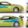 Mitsubishi Eclipse Fast Furious - ech 1-18 die cast ERTL
