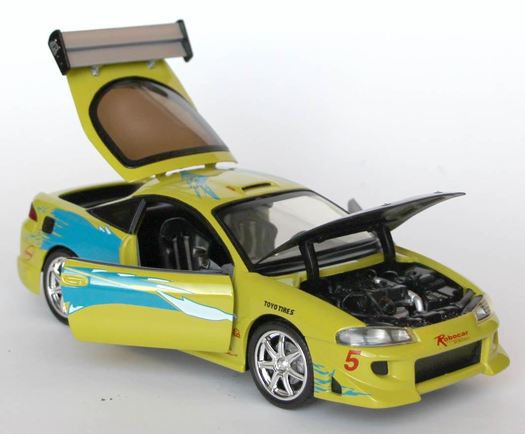Parties mobiles de la Mitsubishi Eclipse Fast Furious