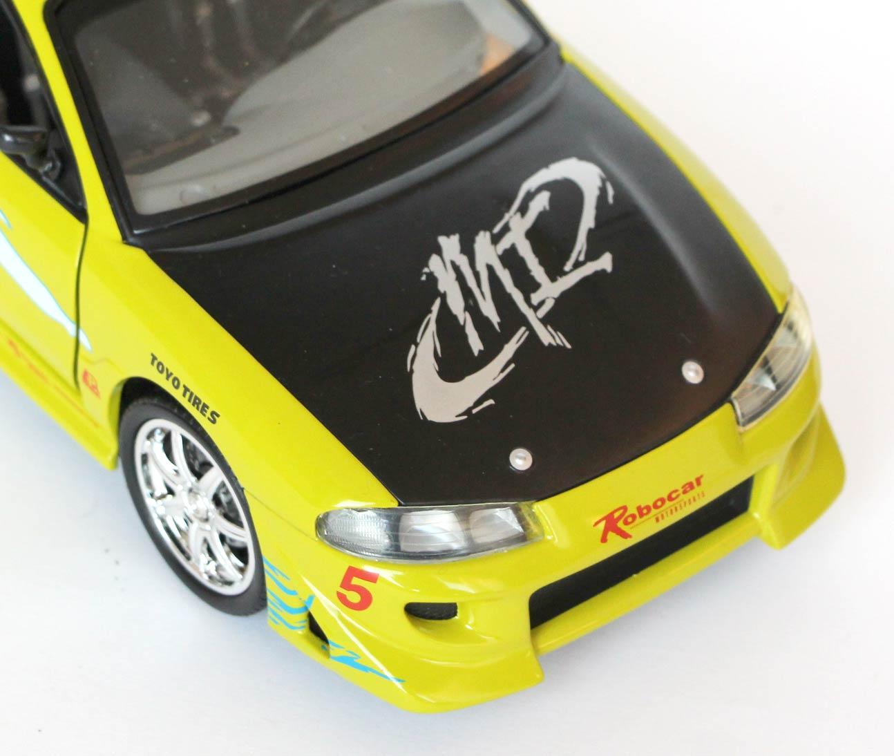 Capot de la Mitsubishi Eclipse Fast Furious - ech 1-18 Joyride