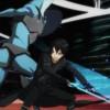 Kirito combat un monstre au niveau 74