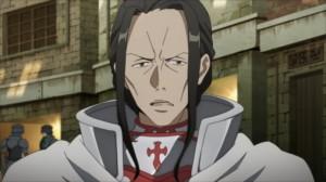 Gros plan sur Kuradeel, le garde du corps d'Asuna
