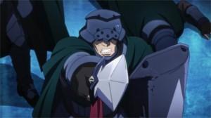 Le chef de l'armée lance l'assaut contre le boss