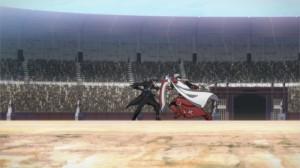 Duel entre Kirito et Heathcliff