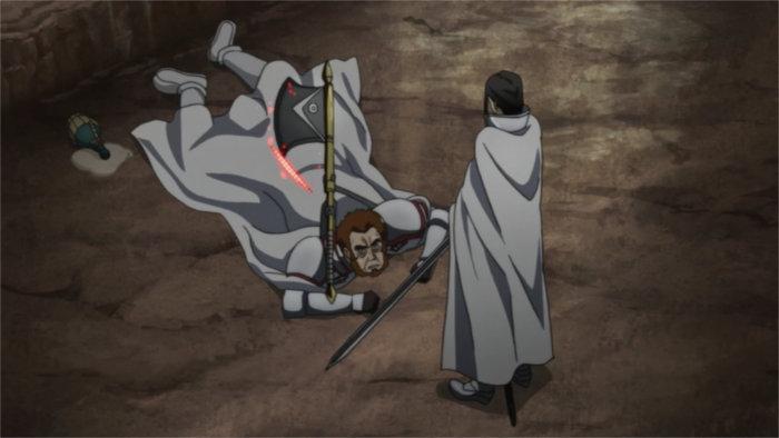 Mort de Godfree assassiné par Kuradeel