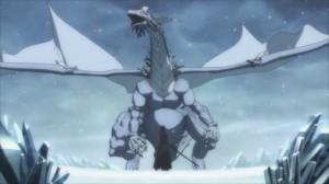Dragon de glace qui possède un cristal dont Lisbeth a besoin pour fabriquer une nouvelle épée à Kirito