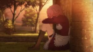 Lisbeth pleure quand Kirito lui a brisé le coeur