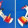 Alcorak Lego Goldorak ailes repliées