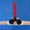 Vue de dos de l'Alcorak de Goldorak en Lego
