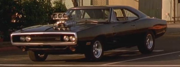 Fast Furious Dodge charger 1970 - Compresseur