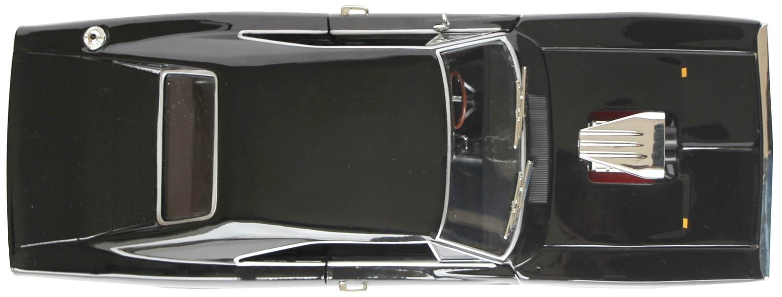 Dodge Charger Fast Furious vue de dessus