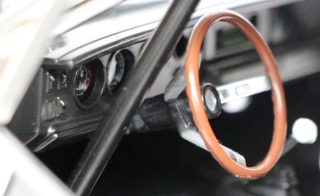 intérieur de la Fast Furious Dodge Charger Joyride