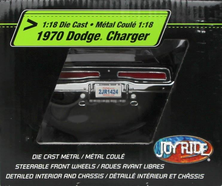 Gauche du packaging de la Dodge Charger Fast Furious 1/18 Joyride