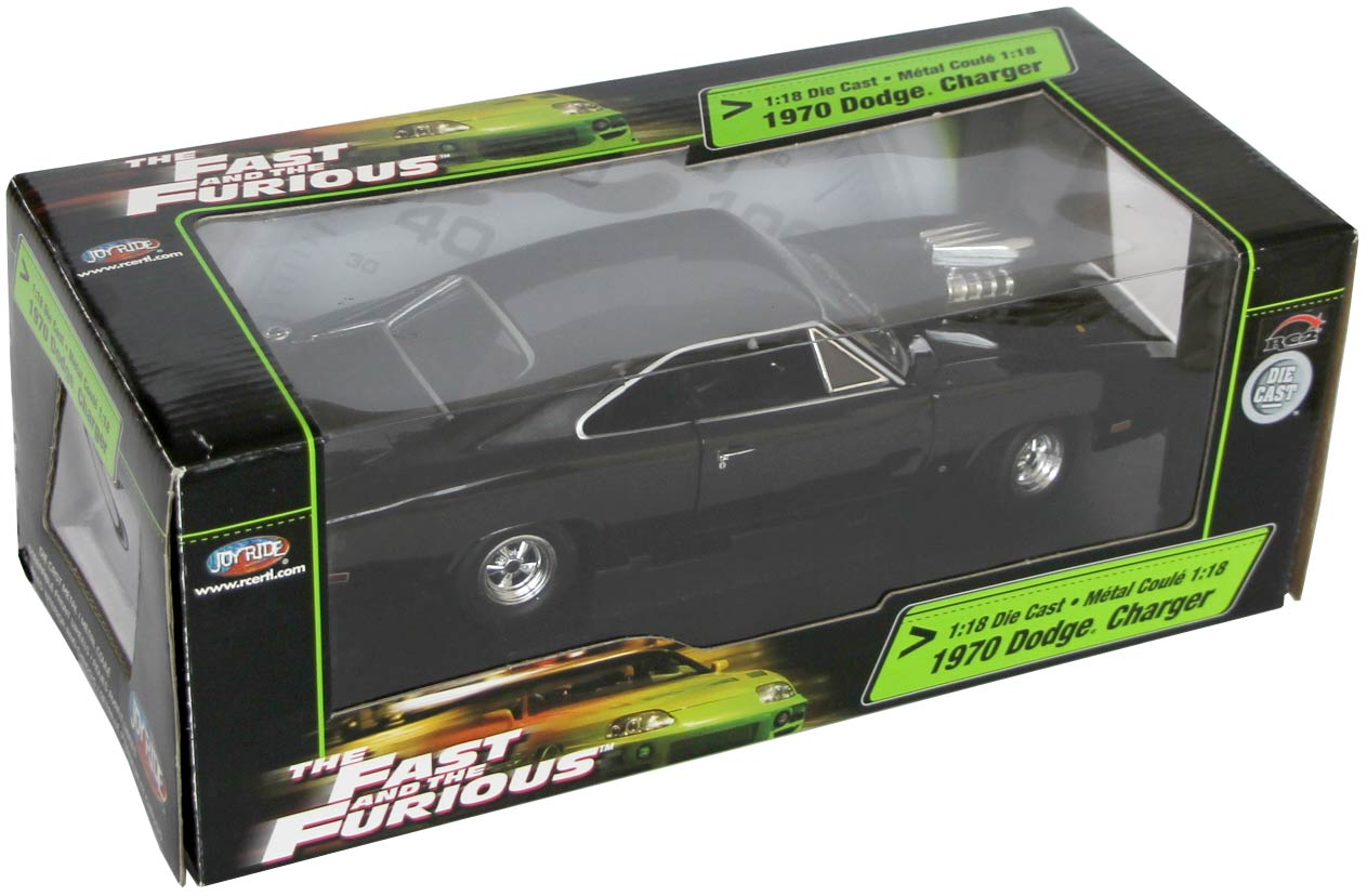 Packaging de la Dodge Charger Fast and Furious 1/18