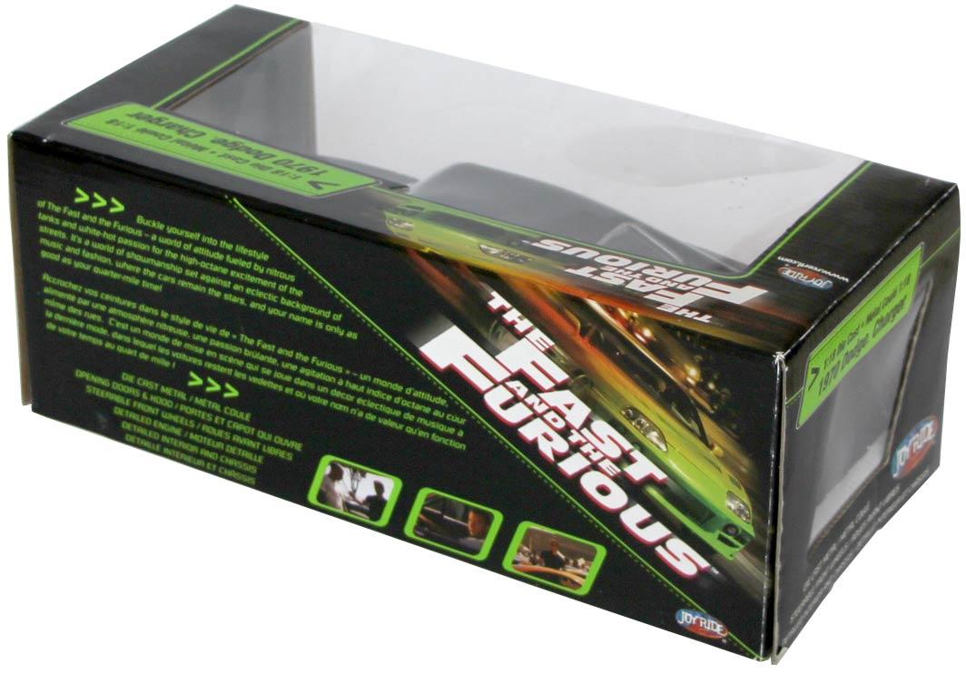 packaging de la Dodge Charger de Fast and Durious
