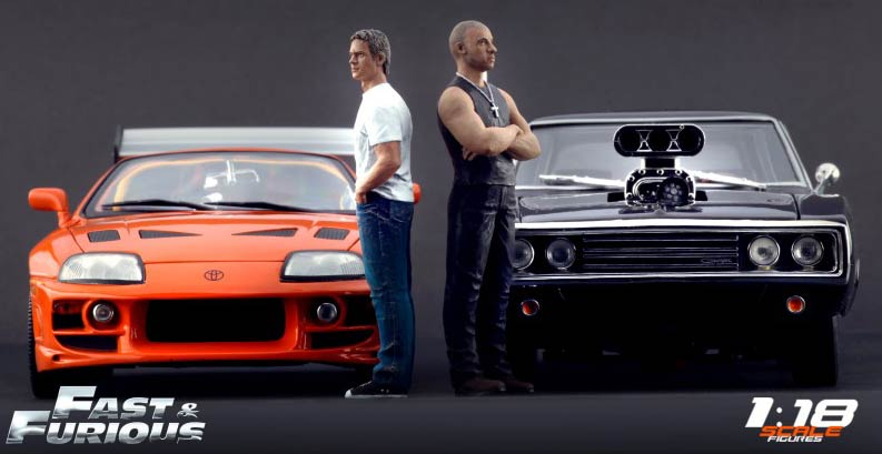 fast furious 1 dodge charger 1970 ech 1 18 joyride fast and furious figurines brian et. Black Bedroom Furniture Sets. Home Design Ideas