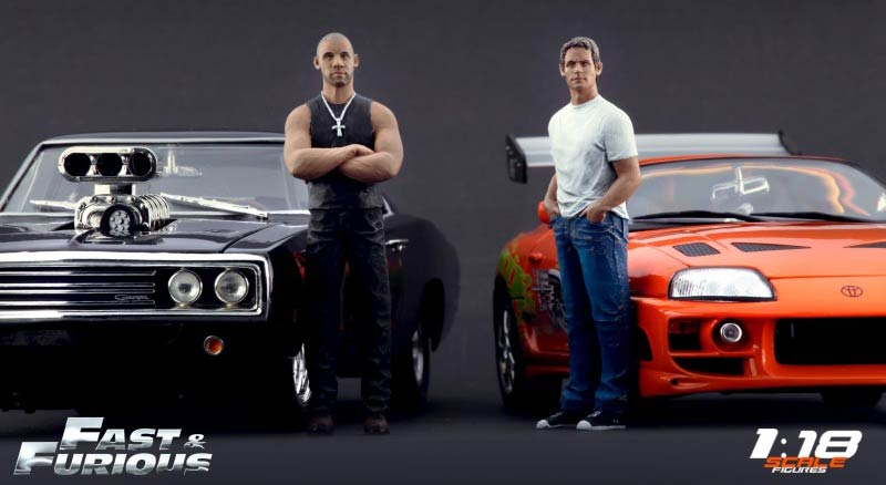 Fast and furious figurine