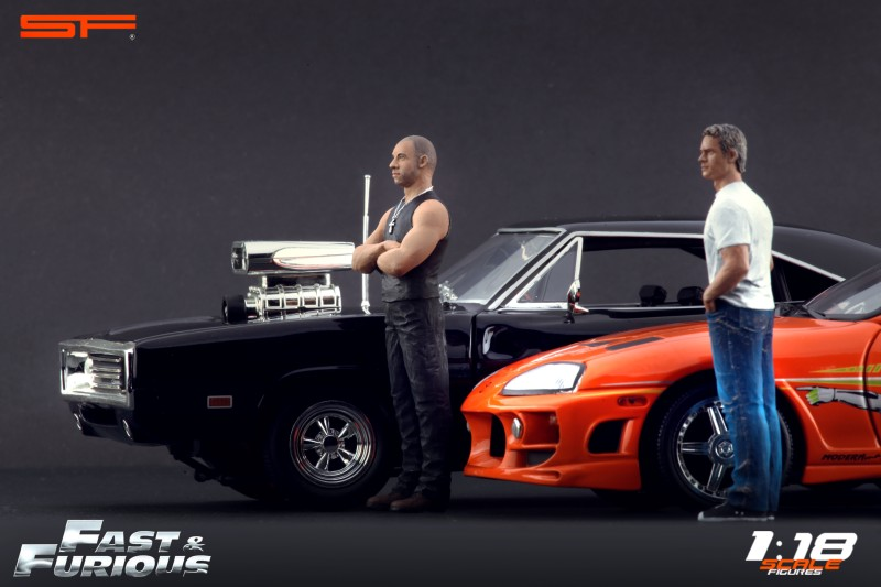 fast furious 1 dodge charger 1970 ech 1 18 joyride fast and furious figurines dom et. Black Bedroom Furniture Sets. Home Design Ideas
