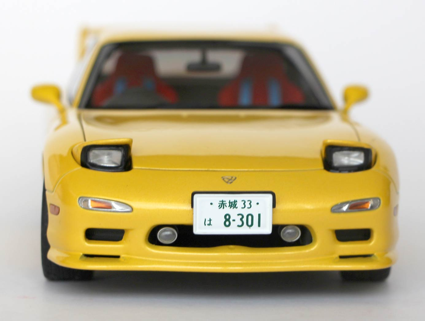 Initial D - Mazda RX 7 AUTOart ech 1/18