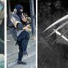Les griffes et le bandeau sur la bouche du personnages sont inspirés des Ninjas