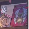le sceptre de Cardcaptor Sakura ainsi que le livre de Clow