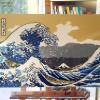 Tsunami Okusai vague Lego