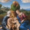La Sainte Famille Canigiani de Raphaël